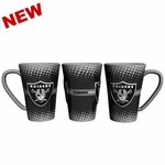 Oakland Raiders 16oz Sculpted Mug