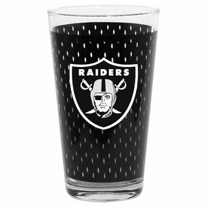 Oakland Raiders 17oz Jersey Mixing Glass - Click to enlarge