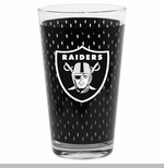 Oakland Raiders 17oz Jersey Mixing Glass