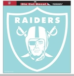 Oakland Raiders 18 x 18 Inch Die Cut Logo Decal