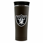 Oakland Raiders 18oz Stainless Steel Thermo Tumbler