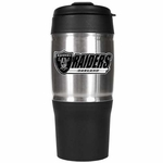 Oakland Raiders 18oz Stainless Tumbler