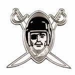Oakland Raiders 1960 Logo Lapel Pin