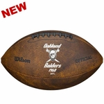 Oakland Raiders 1960 Throwback Football