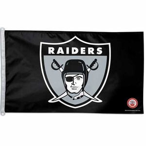 Oakland Raiders 1963 3 X 5 Logo Flag - Click to enlarge