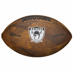 Oakland Raiders 1963 Throwback Football