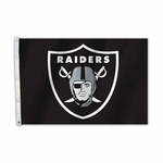 Raiders 2 x 3 Shield Flag