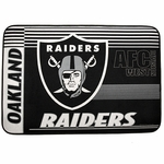 Oakland Raiders 20 x 30 Logo Door Mat