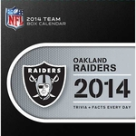 Oakland Raiders 2014 Box Calendar