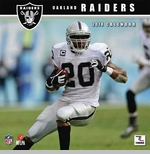 Oakland Raiders 2014 Mini Wall Calendar