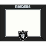 Oakland Raiders 2015 Art Glass 4x6 Frame