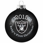 Oakland Raiders 2015 Baby's First Christmas