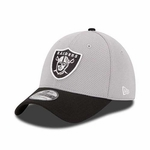 Oakland Raiders 2015 New Era 39Thirty Training Camp Fan Cap