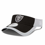 Oakland Raiders 2015 New Era Training Camp Fan Visor