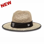 Oakland Raiders 2015 New Era Training Straw Hat