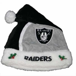 Oakland Raiders 2015 Santa Hat