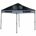 Oakland Raiders 2016 10x10 Straight Leg Canopy