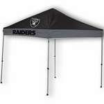Oakland Raiders 2016 9x9 Straight Leg Canopy