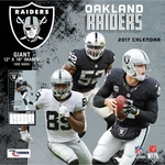 Oakland Raiders 2017 12x12 Team Calendar