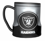 Oakland Raiders 20oz Game Time Sculpted Mug