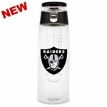 Oakland Raiders 20oz Infuser Sport Bottle