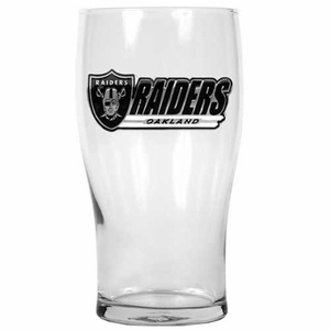 Oakland Raiders 20oz Pub Glass - Click to enlarge