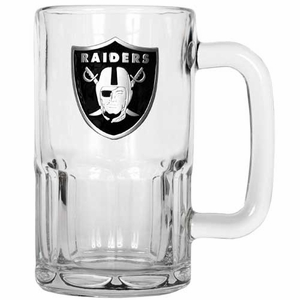 Oakland Raiders 20oz Rootbeer Mug - Click to enlarge