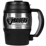 Oakland Raiders 20oz Stainless Mini Jug