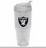 Oakland Raiders 22oz Jumbo Insulated Tumbler
