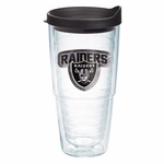 Oakland Raiders 24oz Sequin Tumbler