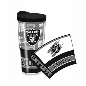 Oakland Raiders 24oz Wrap Tumbler - Click to enlarge