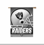 Oakland Raiders 27 Inch Vertical Flag