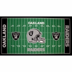"Oakland Raiders 28"" x 52"" Field Mat"