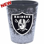 Oakland Raiders 2oz Freezer Collector Glass