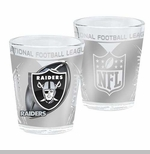 Oakland Raiders 2oz Hi Def Shot Glass