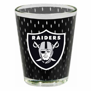 Oakland Raiders 2oz Jersey Collector Shot Glass - Click to enlarge