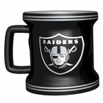 Oakland Raiders 2oz Mini Sculpted Mug