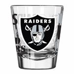 Oakland Raiders 2oz Spirit Collectible Glass