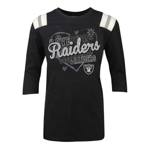 Girls Youth Oakland Raiders Derek Carr Pink Bubble Gum Jersey