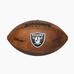 Oakland Raiders Wilson 3X Super Bowl Champ Football