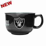 Oakland Raiders 32oz Bowl Mug