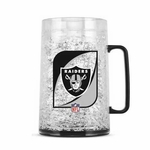 Oakland Raiders 38oz Monster Crystal Mug