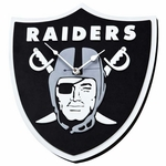 Oakland Raiders 3D Wall Clock