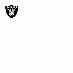 Oakland Raiders 3x3 Sticky Notes - Click to enlarge