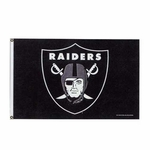 Oakland Raiders 3x5 Logo Flag