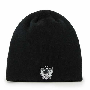 Oakland Raiders '47 Brand 1963 Logo Beanie - Click to enlarge