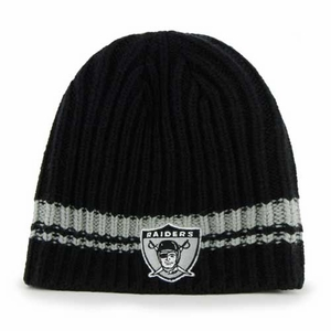 Oakland Raiders '47 Brand 1963 Ontario Knit Hat - Click to enlarge