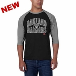 Oakland Raiders '47 Brand All Pro Baseball Tee