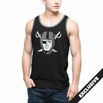 Oakland Raiders '47 Brand Black Crosstown Pirate Tank