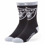 Oakland Raiders '47 Brand Bolt Sport Sock